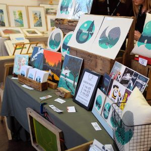 OR8 Design at Liverpool Print Fair
