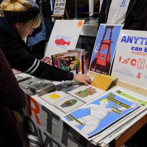 North or Nowt's stall at Liverpool Print Fair November 2018